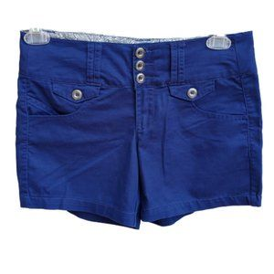 One 5 One| Shorts Blue Dressy Cotton
